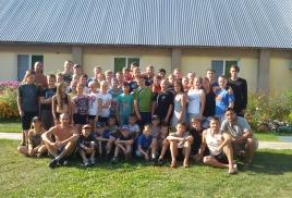 спортивно-тренировочные сборы в лагере 2016